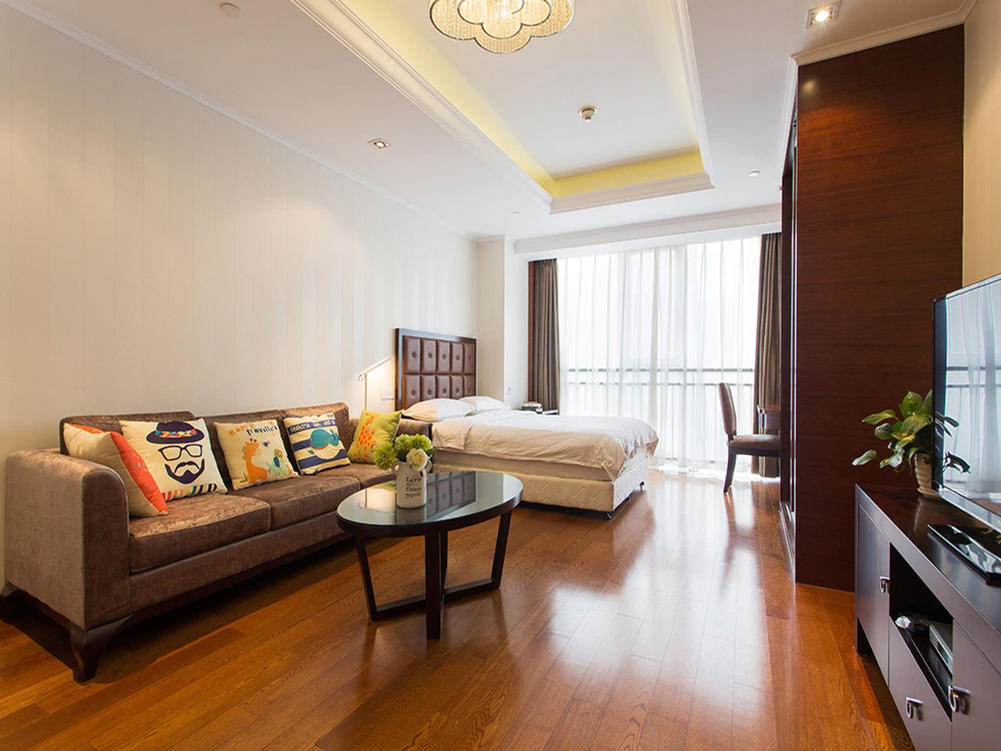 Qingdao Jinshan We Holiday Apartment Wu Si Square, Qingdao