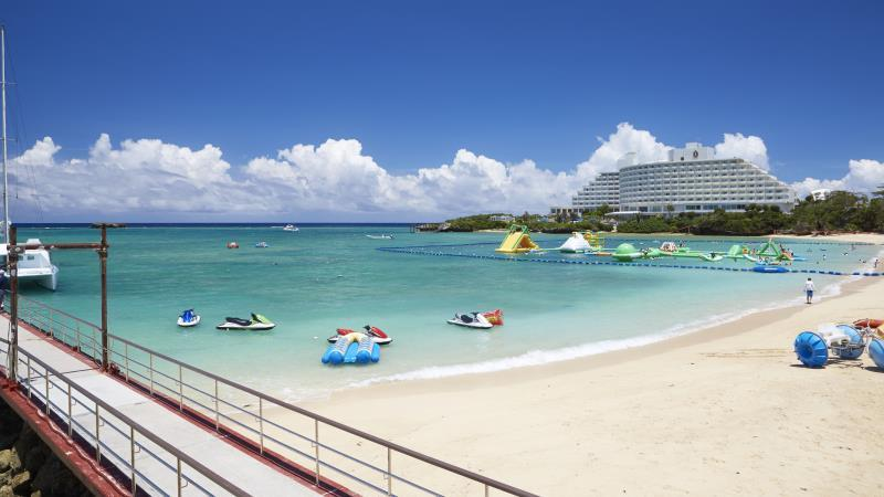 Ana Intercontinental Manza Beach Resort Map Code Picture Ideas