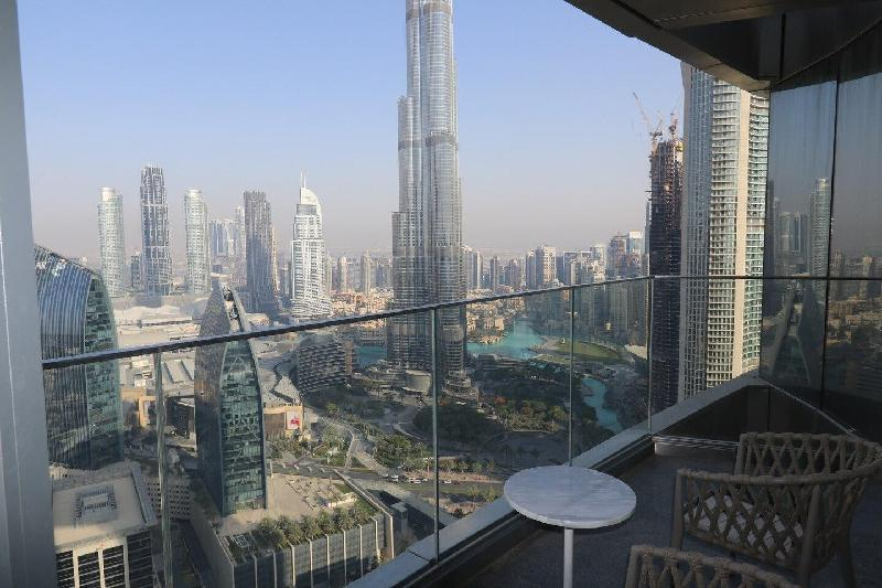 Penthouse with Burj KhalifaView in Address SkyView in Dubai