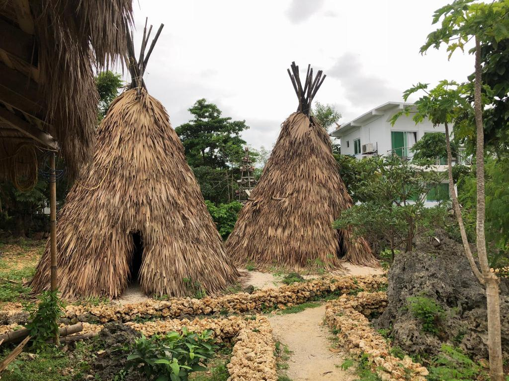 Native American Large Teepee in a beach resort in Pangasinan