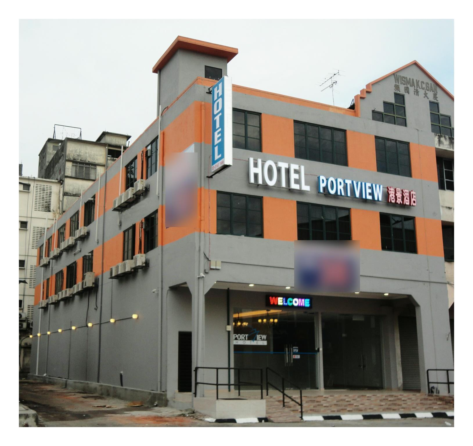 Hotel Portview, Klang