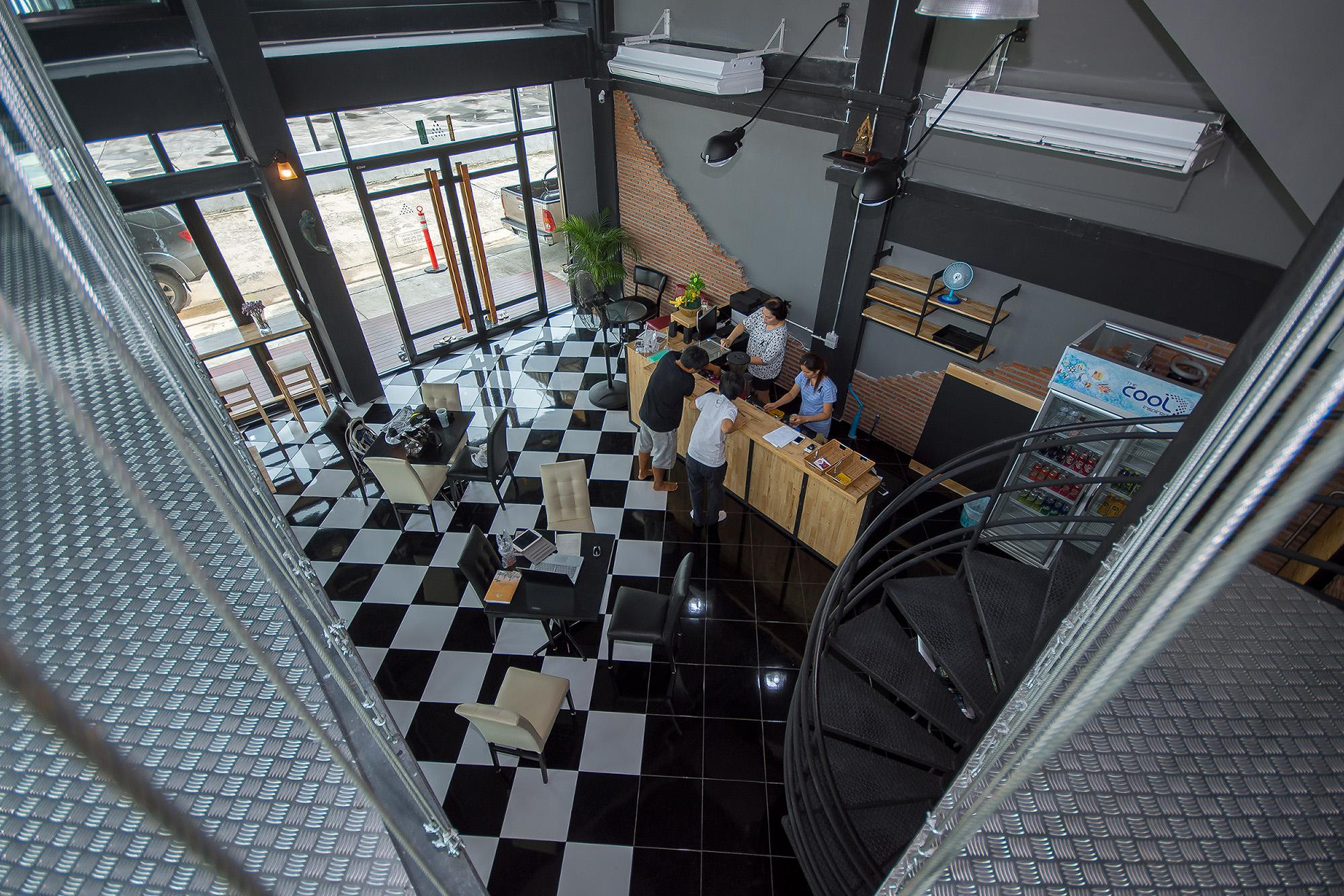 The LogBook room and cafe', Muang Chon Buri