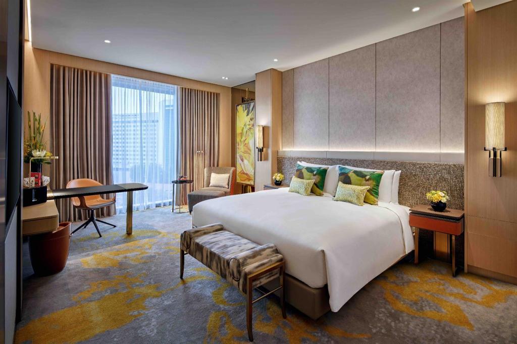 Phòng Club Sang trọng có giường King - Được vào Club Millesime - Giường