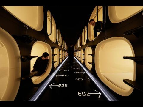 Where to stay in Tokyo - Nine Hours Capsule Hotel
