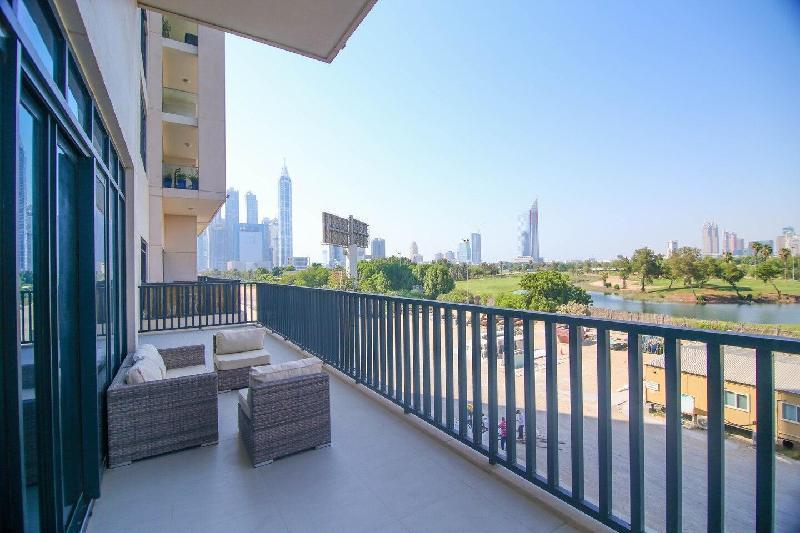 Vida Hills 3BR Apt for 6  Balcony Maid Room in Dubai