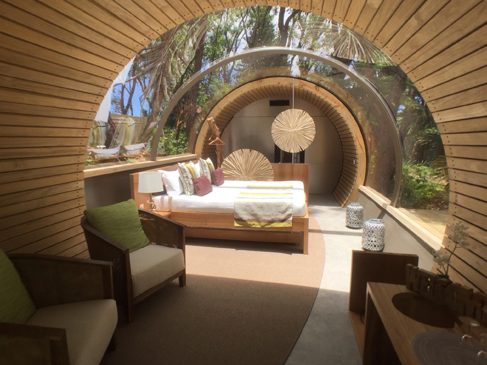Bubble Lodge Bois Cheri,