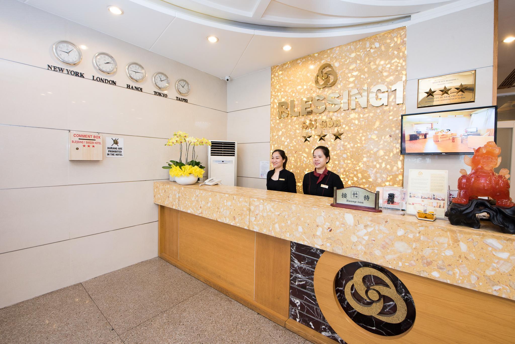 Khách Sạn Blessing 1 Sài Gòn