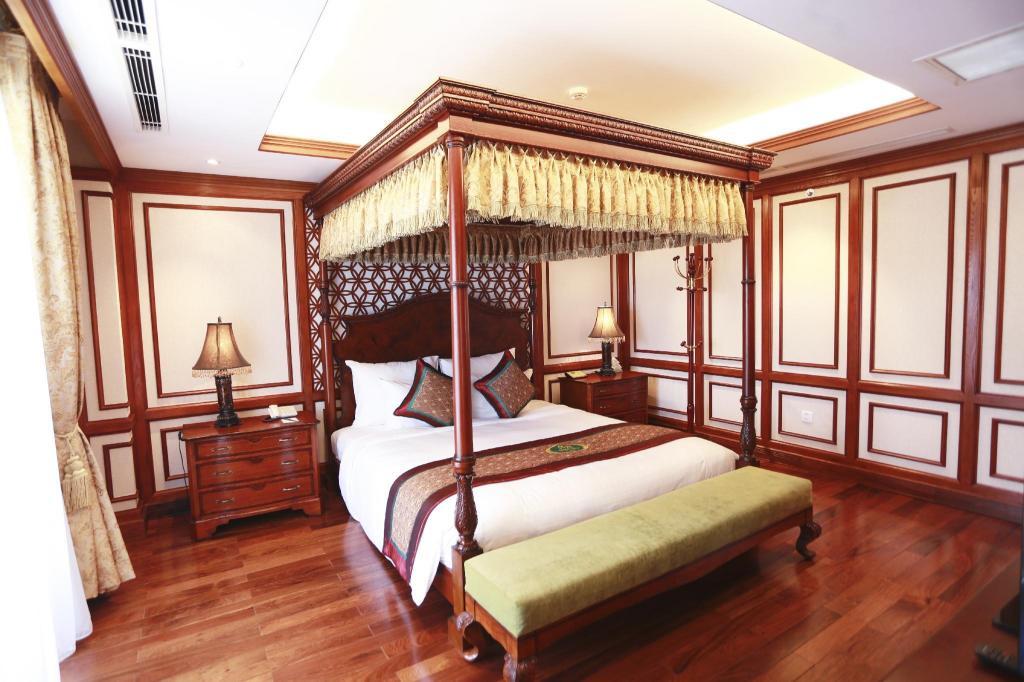 Suite Tổng thống - Giường