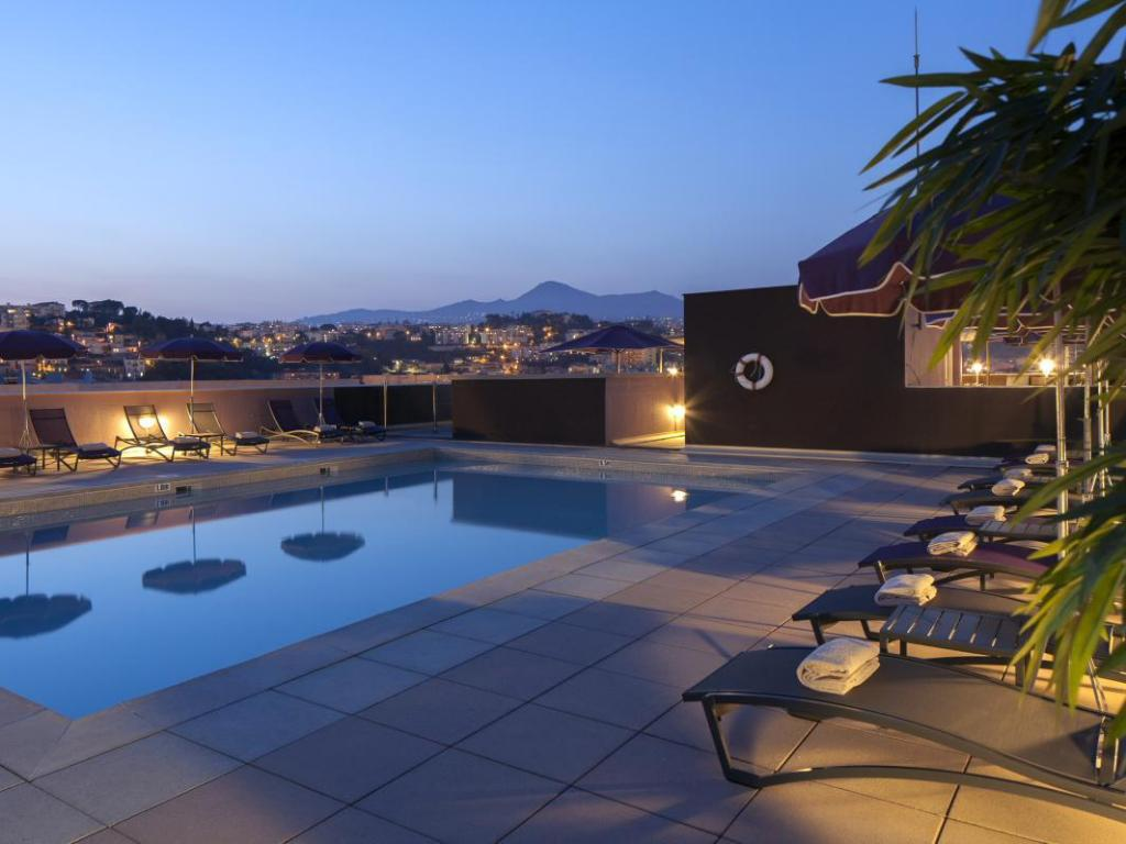 Best price on nh nice hotel in nice reviews for Best hotels in nice