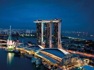 Best Hotels in Singapore : Marina Bay Sands
