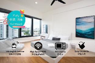 Cozy 218 - CityView/LuggageDeposit/Max10guests, Pulau Penang