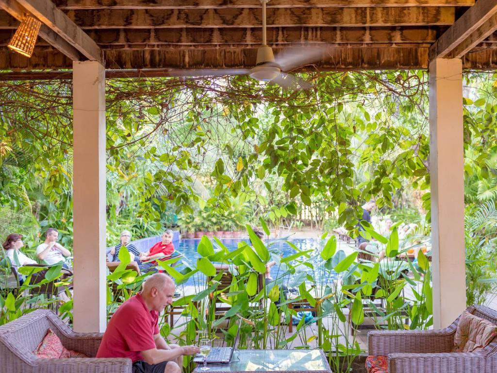 Best Price On Sambor Village Hotel In Kampong Thom Reviews