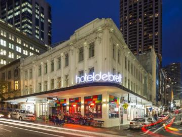 Best Hotels in Auckland : Hotel DeBrett