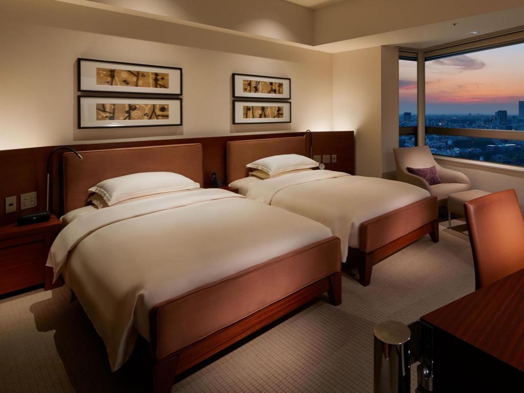 东京君悦酒店两张单人床 - 客房