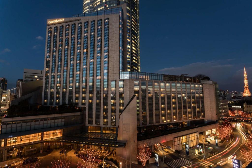 东京君悦酒店外观