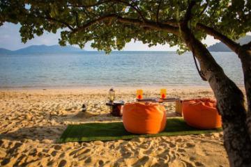 Тропический пляжный курорт