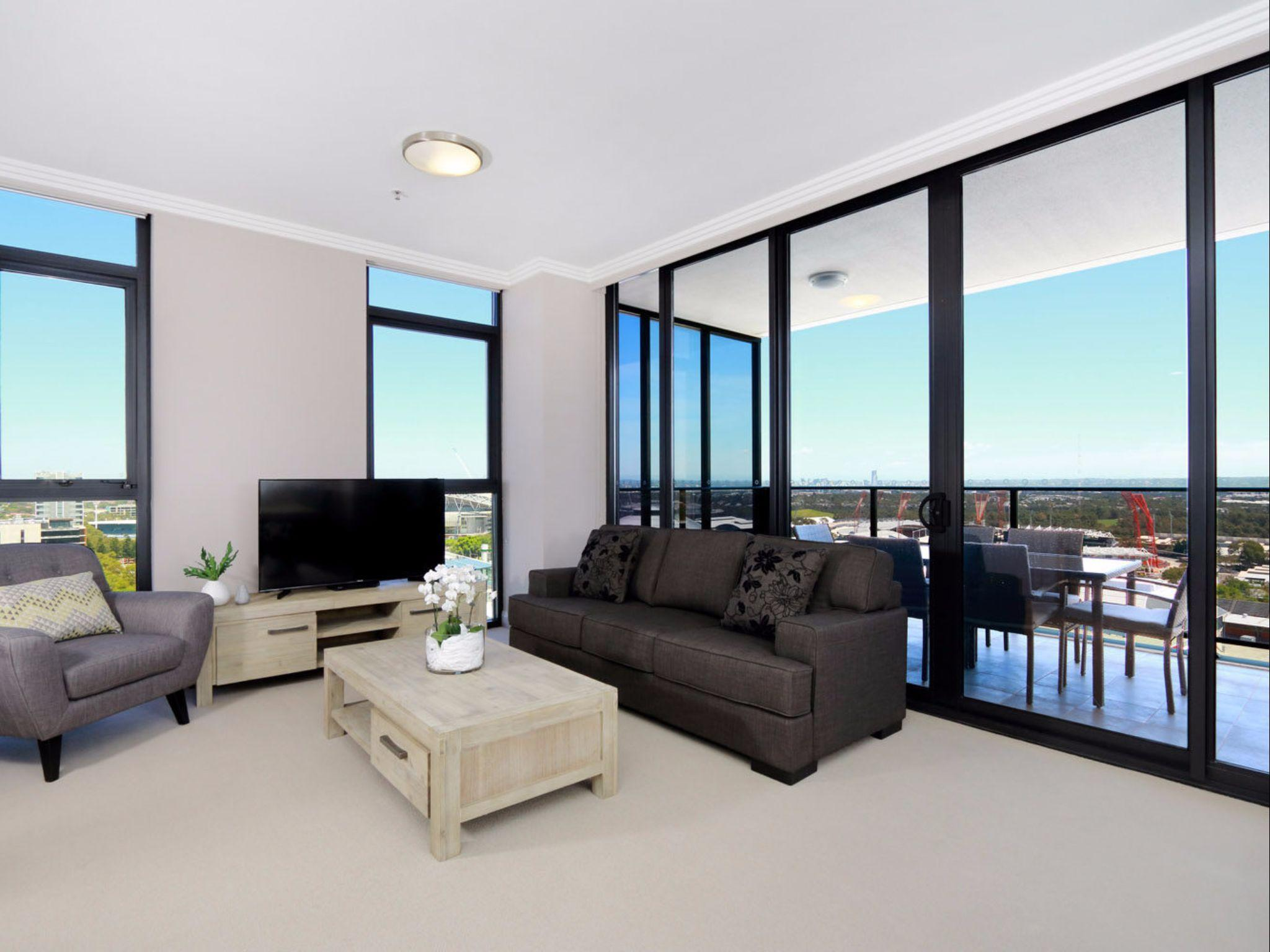 3 Bedroom with Olympic Park view