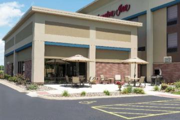 喬利埃特漢普頓酒店-I-55-伊利諾伊州。 酒店