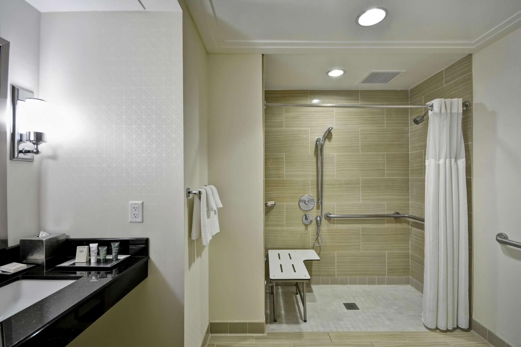 2 Double Accessible Roll in Shower