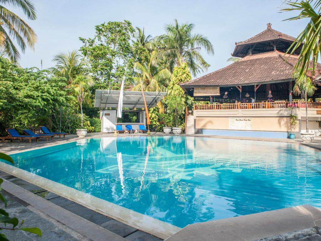 Best price on palm beach hotel resort in bali reviews for Best beach hotels in bali