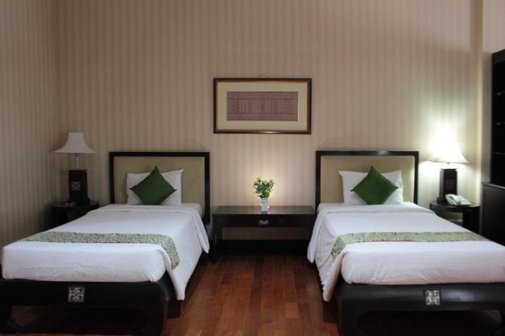 Kamar penginapan di Campago Resort Hotel