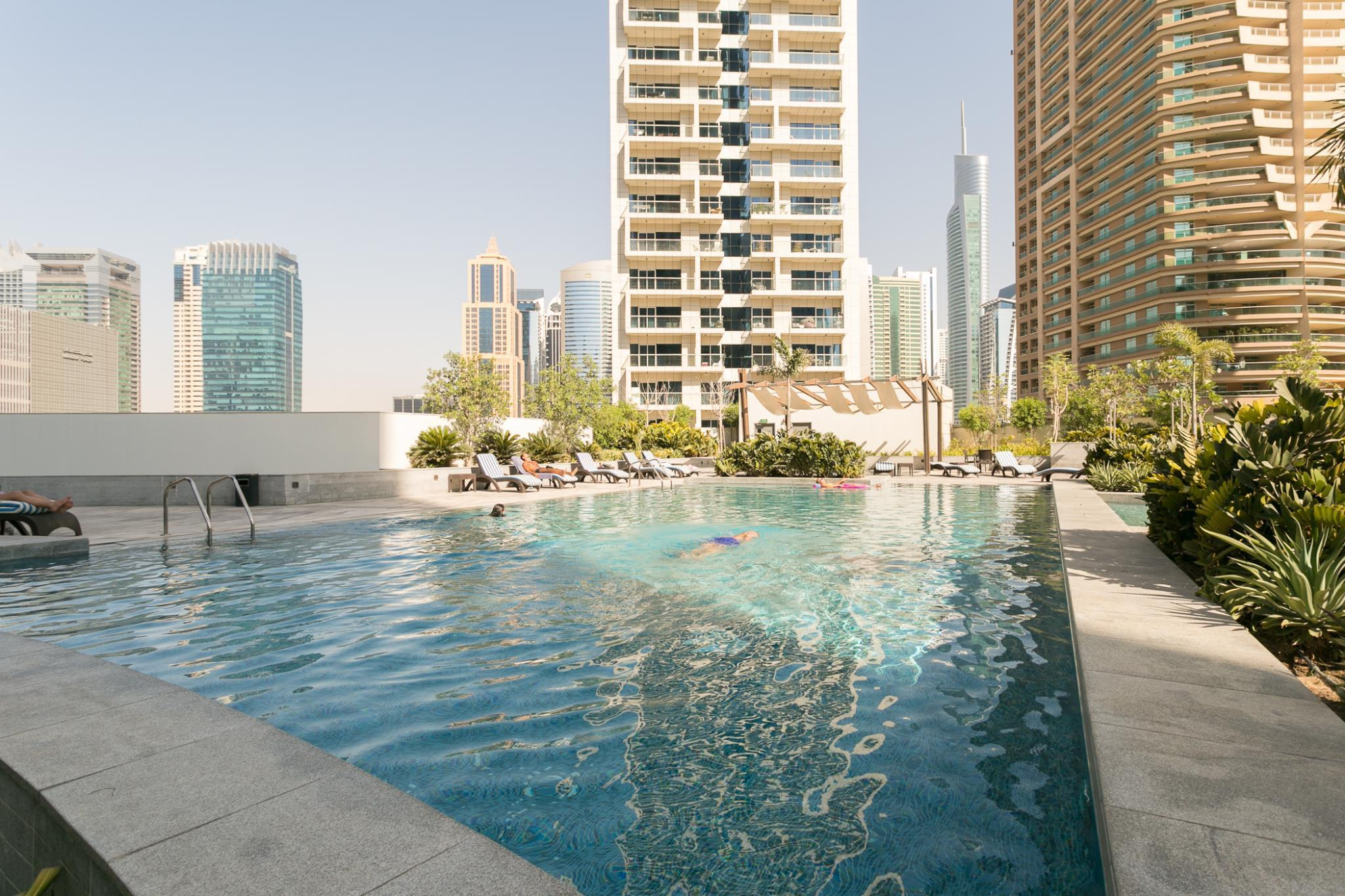 1BR with Full Marina View near Beach and Tram!