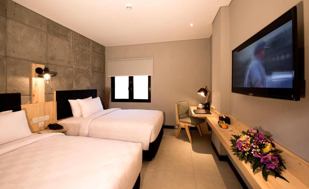 Fasilitas kamar Ayaartta Hotel Malioboro