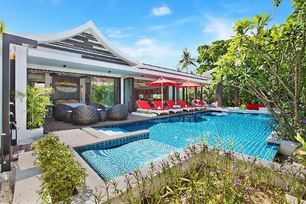 Villa Julia Koh Samui beach villa Koh Samui