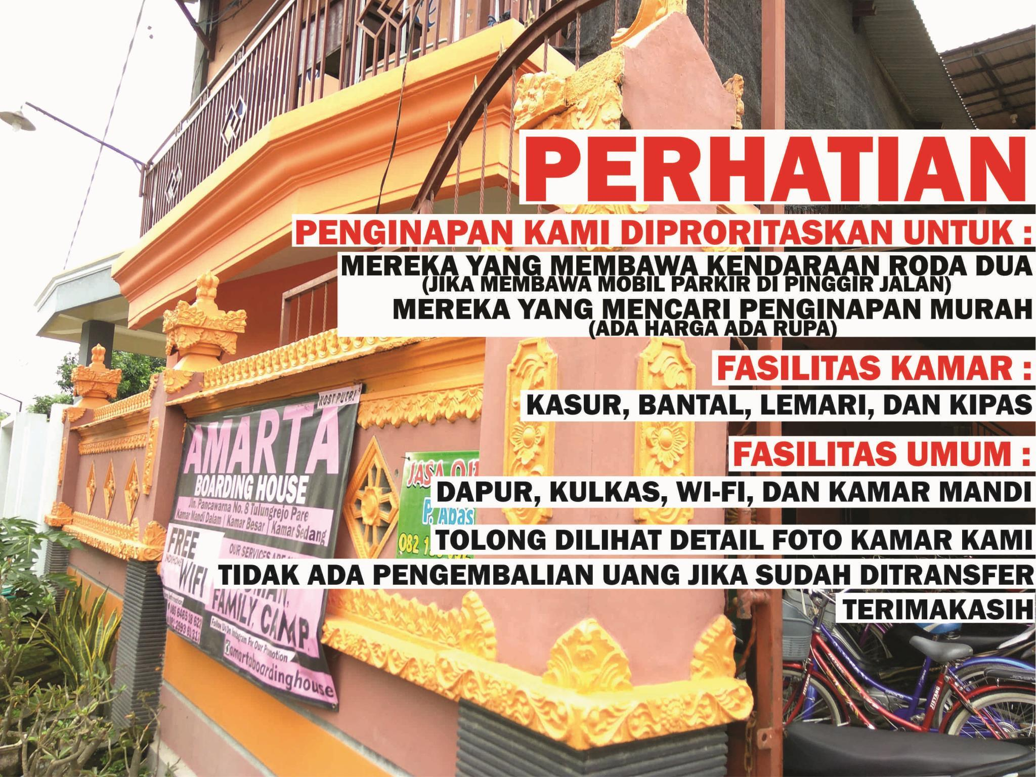 Amarta Boarding House, Kediri