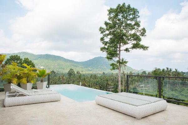 Villa Leana private swiming pool Koh Samui