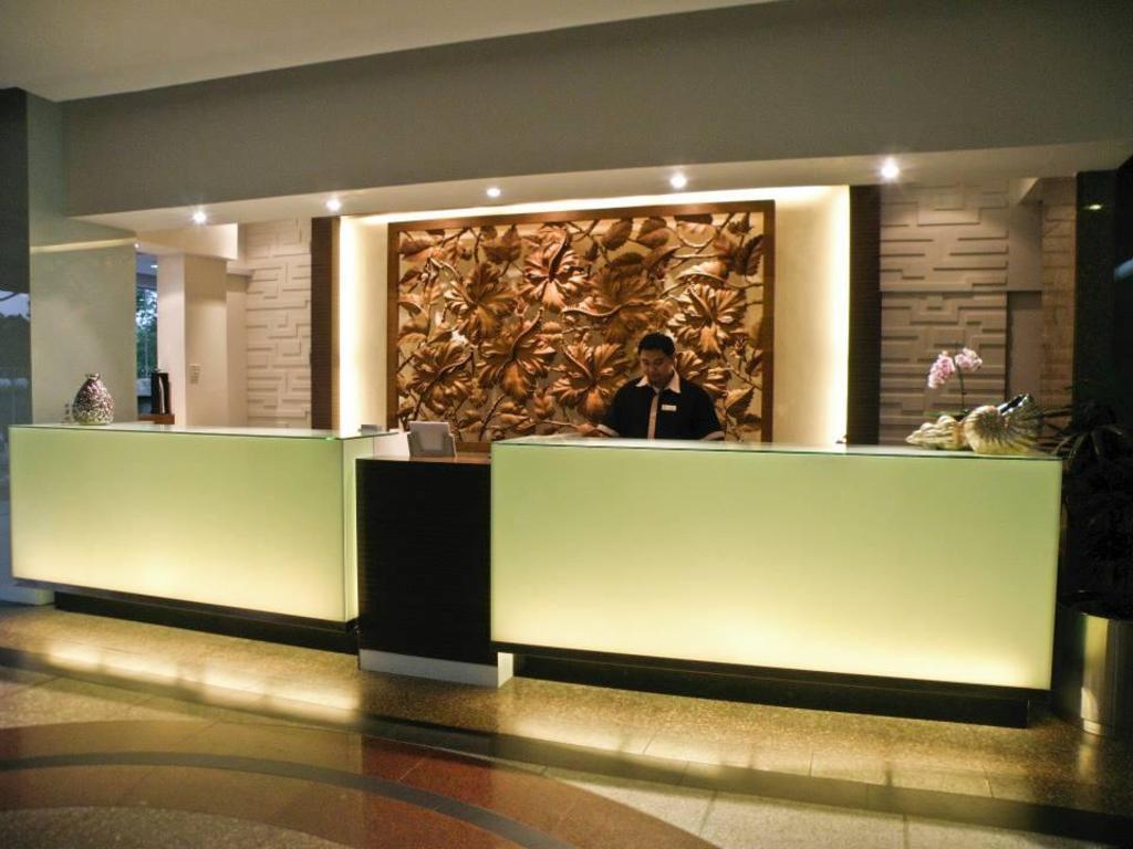 Lobi Review Penview Hotel Kuching Sarawak