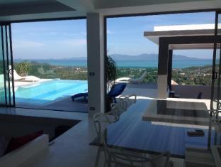 Serena Villa private swiming pool with sea view - Koh Samui