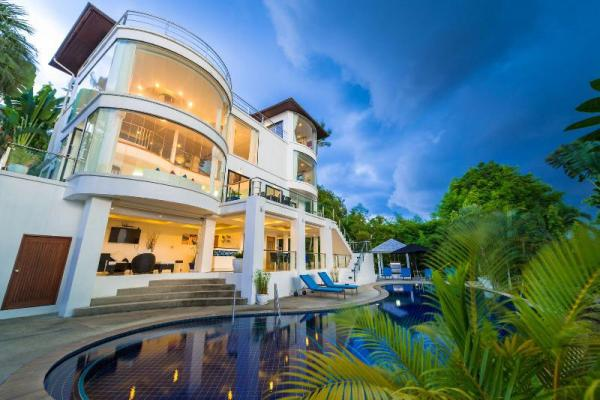 Villa White Stone with sea view & private pool Koh Samui