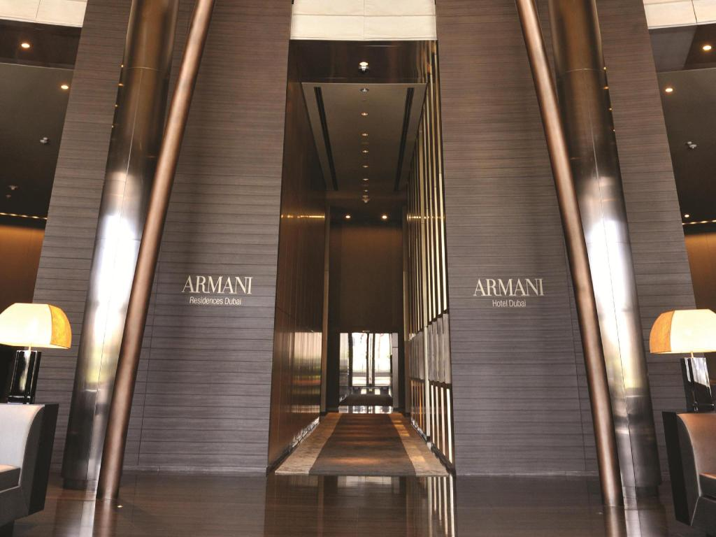 Best price on armani hotel dubai in dubai reviews for Armani dubai