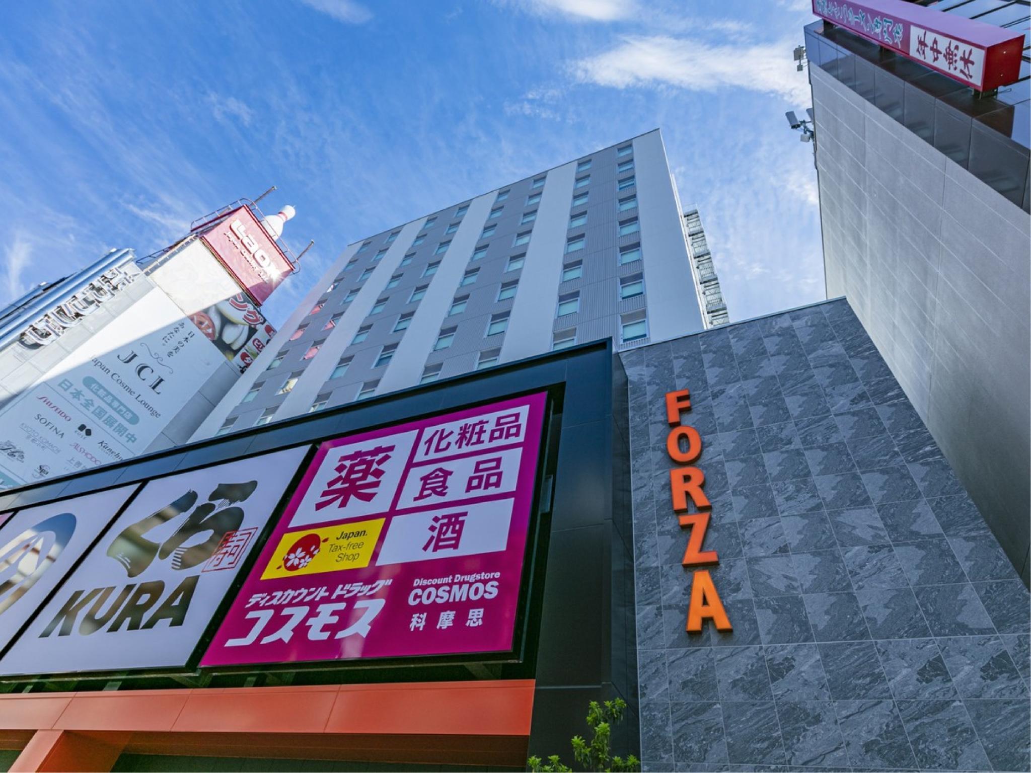 ホテルフォルツァ大阪なんば道頓堀