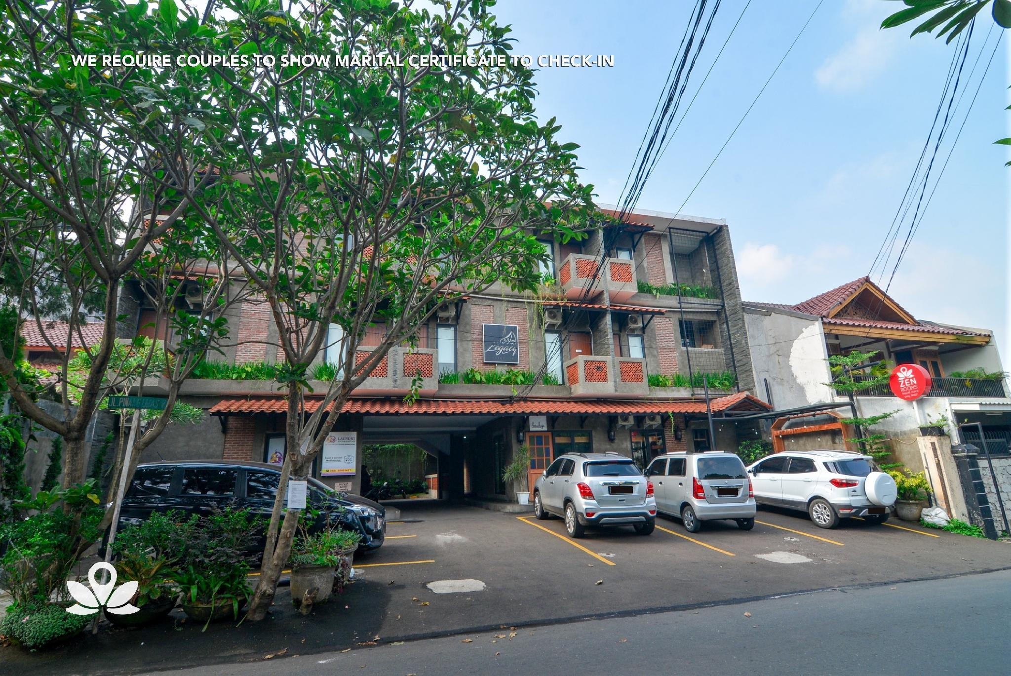 ZEN Rooms Legacy Residence Syariah, Jakarta Selatan