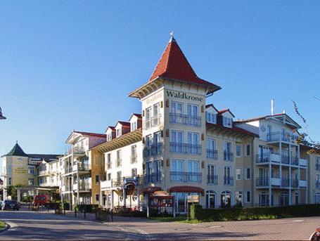 Hotel Residenz Waldkrone Kuehlungsborn, Rostock