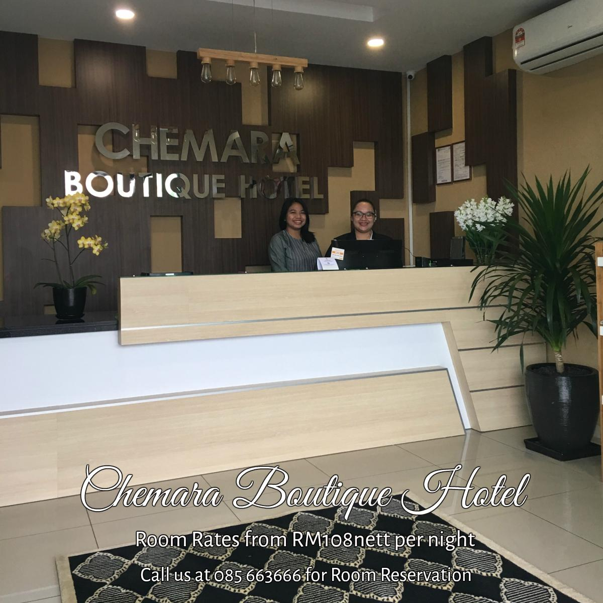 Chemara Boutique Hotel,Miri