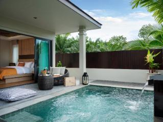 De Malee-villa med pool