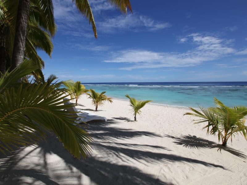 Sunset Resort In Cook Islands