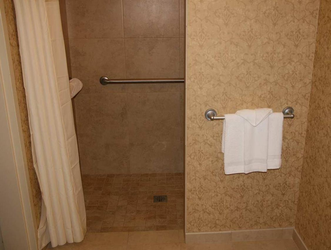 1 King Mobility/Hearing Accessible Roll In Shower Studio Non-smoking