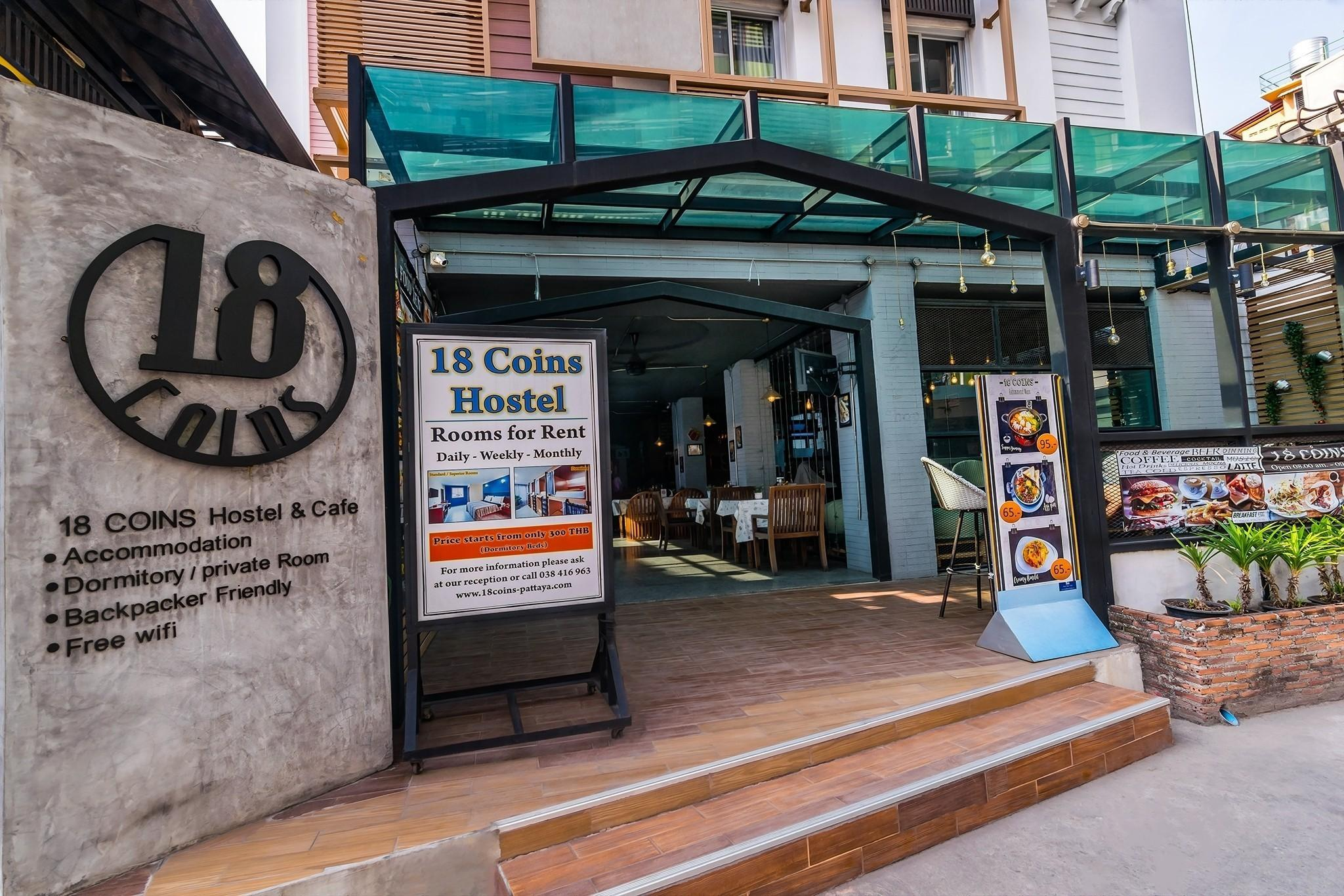 18 Coins Cafe & Hostel, Pattaya