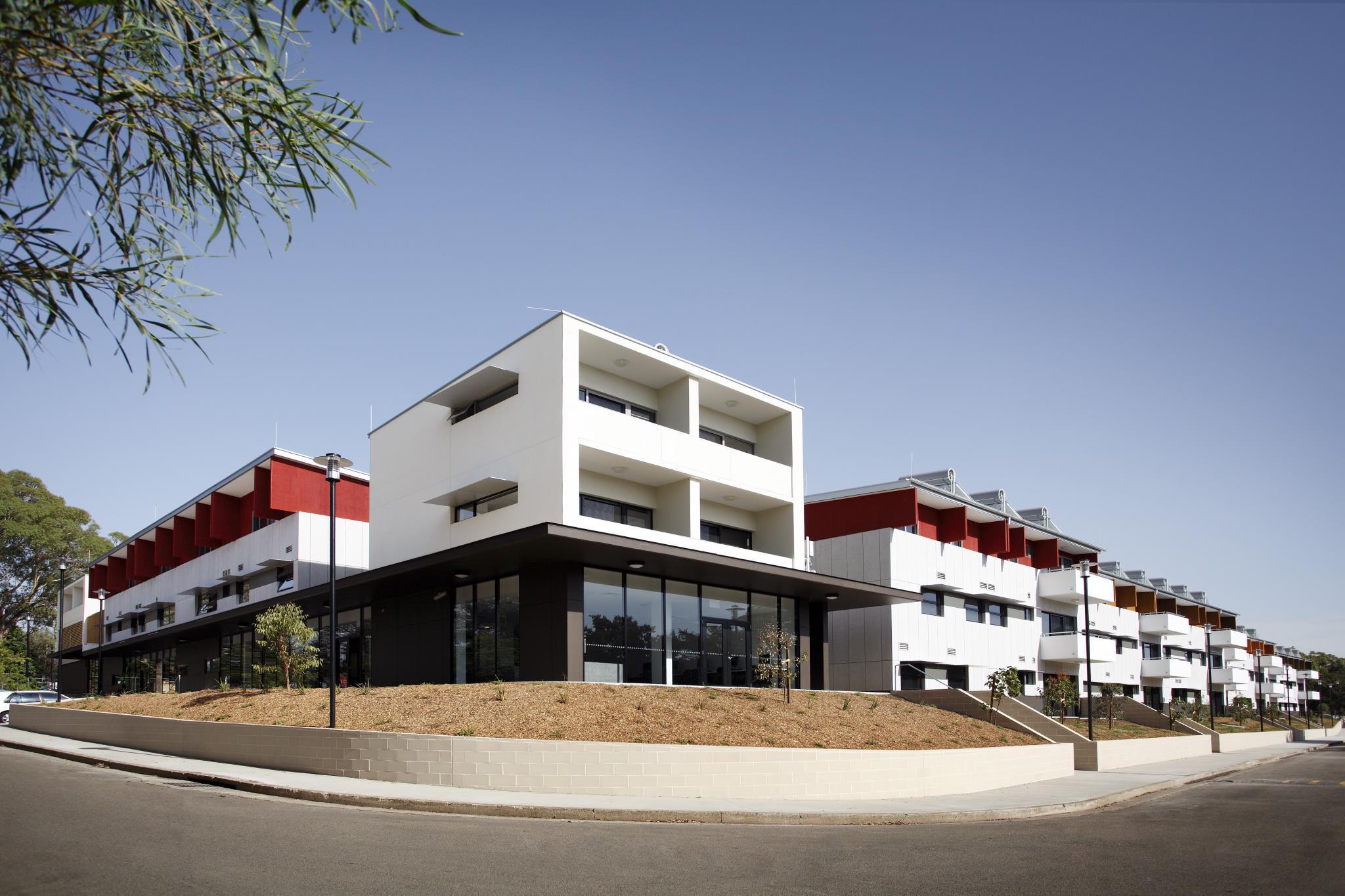 Western Sydney University Village Parramatta, Parramatta  - Inner