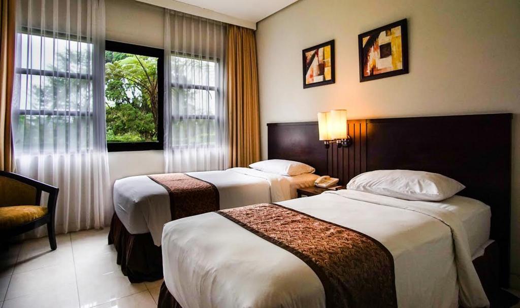 Kamar penginapan di Sari Ater Hotel & Resort