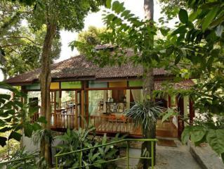 Retraite dans la forêt tropicale d'Ambong Ambong Langkawi