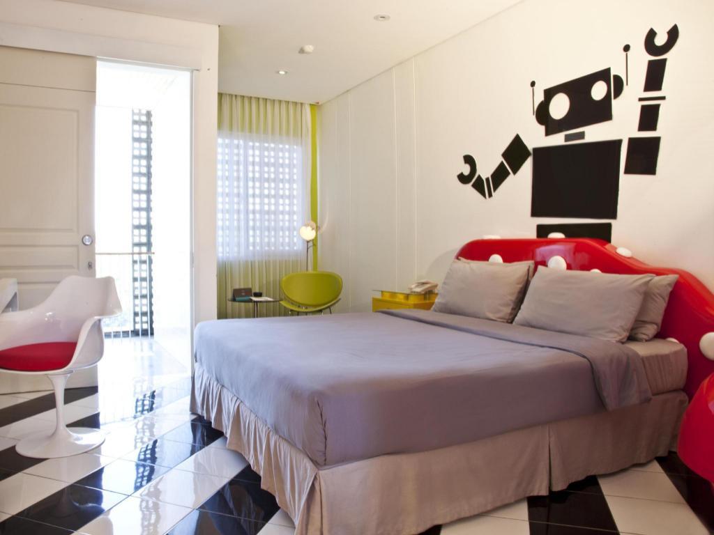 Kamar penginapan di Stevie G Hotel