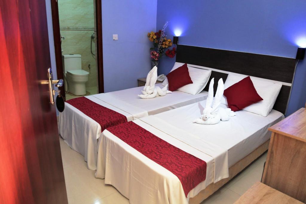 hotell i maldivene