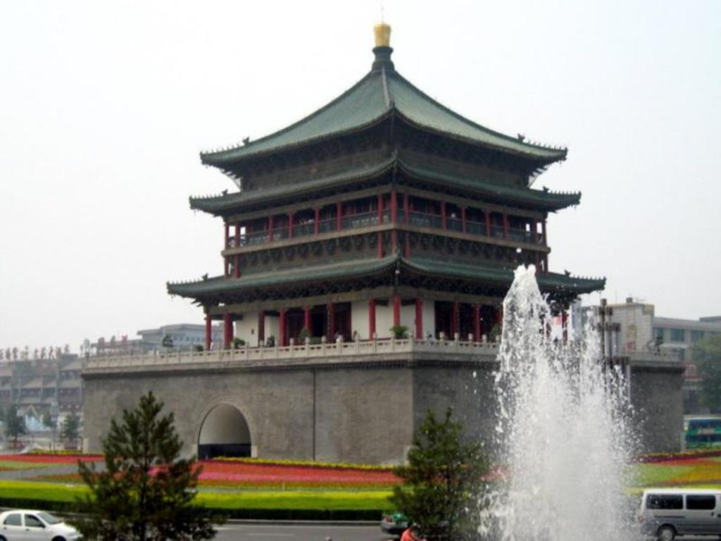Drum Bell Tower