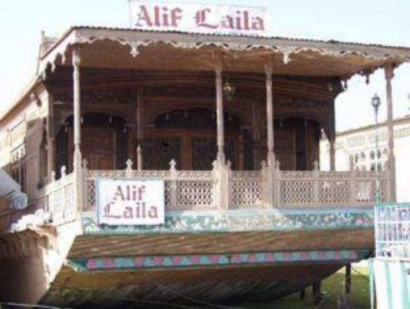 Alif Laila Group of Houseboat Hotel Srinagar in India