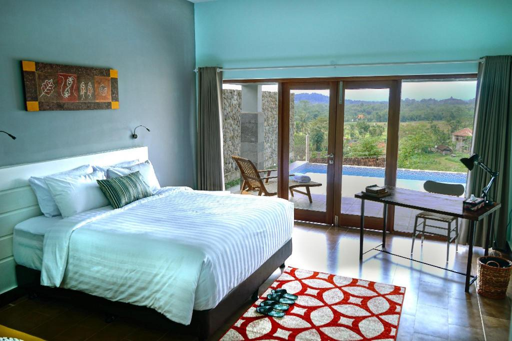 Borobudur Hills Hotel.